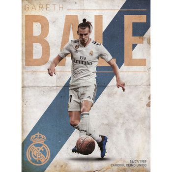 Real Madrid - Bale Art Print