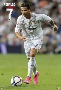 Real Madrid - Cristiano Ronaldo 15/16 Poster, Art Print