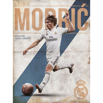 Real Madrid - Modric Art Print