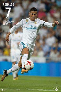 Real Madrid - Ronaldo 2017/2018 Poster