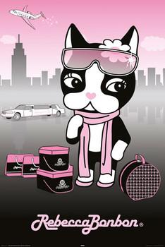 REBECCA BONBON - pretty in pink Poster, Art Print