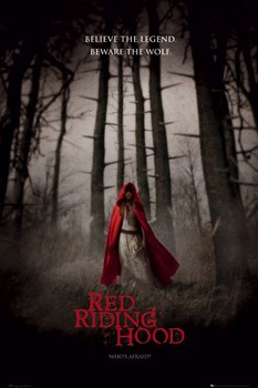 RED RIDING HOOD - one sheet Poster
