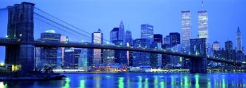 Richard Berenholtz - Brooklyn bridge To Downtown Mangattan Art Print