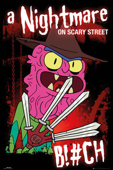 Rick & Morty - Scary Terry Poster