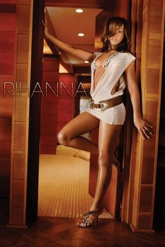 Rihanna - doorway Poster