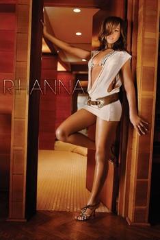 Rihanna - doorway Poster