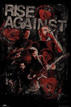 Rise against - Posterize Framed Poster