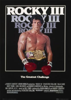 Poster  ROCKY III - one sheet