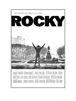Rocky one sheet Art Print