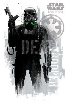 Poster Rogue One: Star Wars Story - Death Trooper Grunge