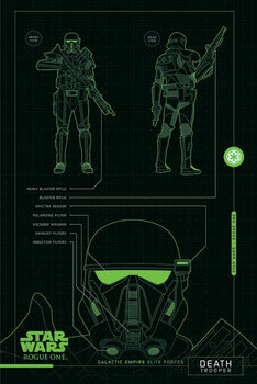 Poster Rogue One: Star Wars Story - Death Trooper Plans