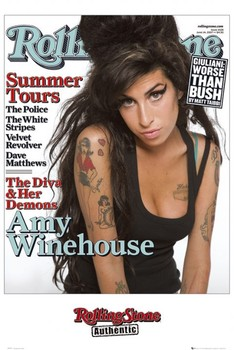 Rolling Stone - Amy Winehouse Poster