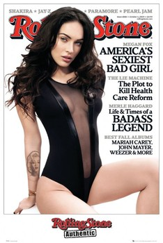 Poster ROLLING STONE - megan fox