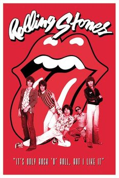 Pôster Rolling Stones - it's only Rock n roll