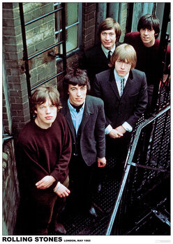 Poster Rolling Stones - London 1965