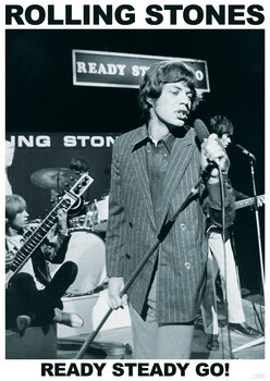 Poster Rolling Stones - Ready Steady Go