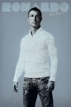 Ronaldo - jumper Poster