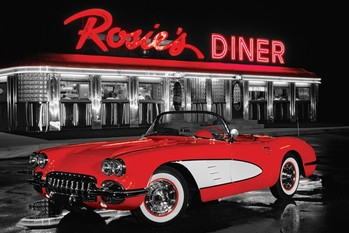 Pôster Rosie's diner