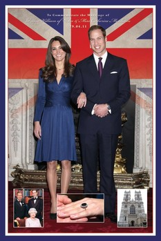 Royal wedding - Will & Kate Poster
