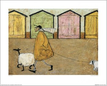 Sam Toft - Along The Prom Art Print