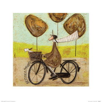 Sam Toft - Best Face Forward Art Print