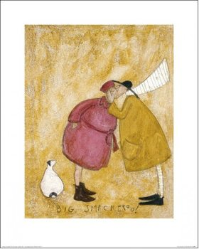 Sam Toft - Big Smackeroo! Art Print