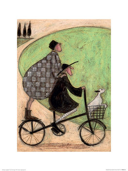 Sam Toft - Double Decker Bike Art Print