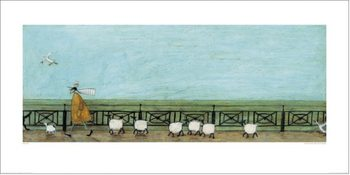 Sam Toft - Moses Follows That Picnic Basket Art Print