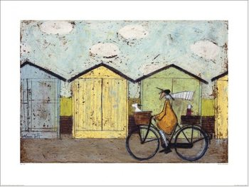 Sam Toft - Off For A Breakfast Art Print