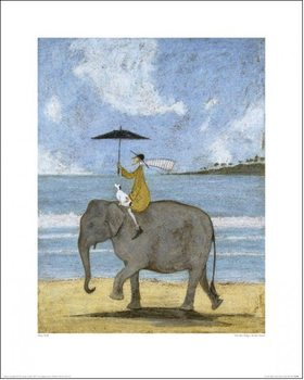 Sam Toft - On The Edge Of The Sand Art Print