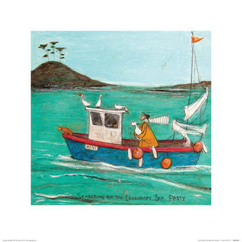 Sam Toft - Searching For The Legendary Sea Pasty Art Print