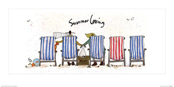 Sam Toft - Summer Loving Art Print