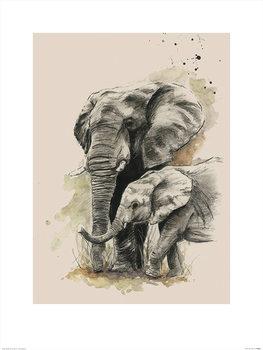 Sarah Stokes - Proud Art Print
