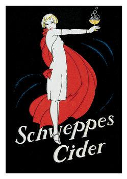 Schweppes cider Art Print