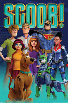 Poster Scoob! - Scooby Gang and Falcon Force