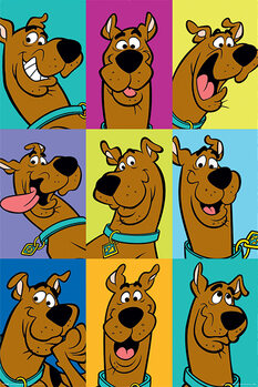 Poster Scooby Doo - The Many Faces of Scooby Doo