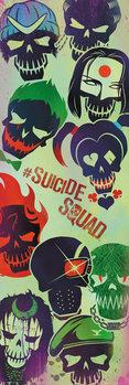 Sebevražedný oddíl - Faces Poster