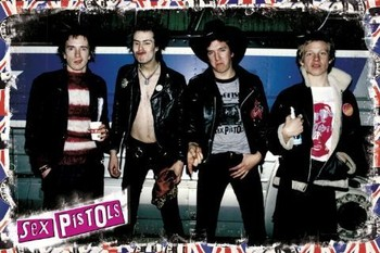 Sex Pistols - band Poster