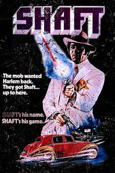 Poster Shaft, 1971
