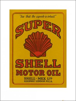 Shell - Adopt The Golden Standard, 1925 Art Print