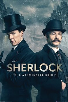 Sherlock - The Abominable Bride Poster, Art Print