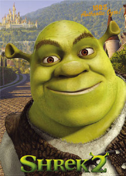 SHREK 2 – 100% giant Poster