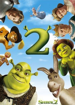 Poster SHREK  2 - one sheet