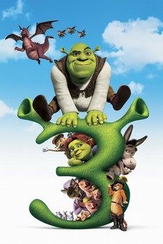 Poster SHREK 3 - big 3