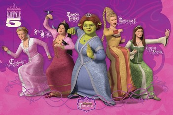 Shrek 3 - princess Poster