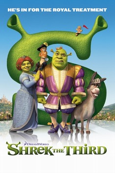 Poster SHREK 3 - royal