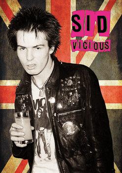 Poster Sid Vicious - Union Jack