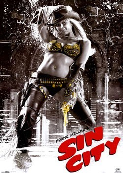 Poster  SIN CITY - Cowgirl
