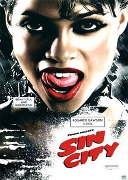 SIN CITY - Gail Poster