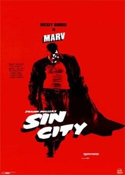 SIN CITY - Marv Poster